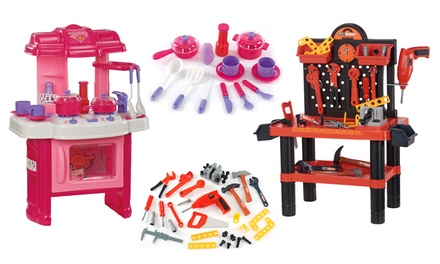 Children's Workshop or Kitchen Playset