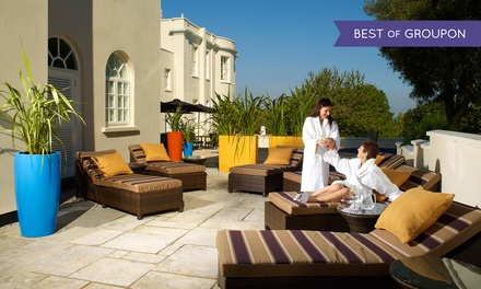 Choice of Spa Treatment andLunchfor One or Two at 4* The Mount Somerset Hotel and Spa (Up to 51% Off)