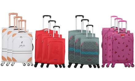 3 trolley, disponibili in 4 set e vari colori