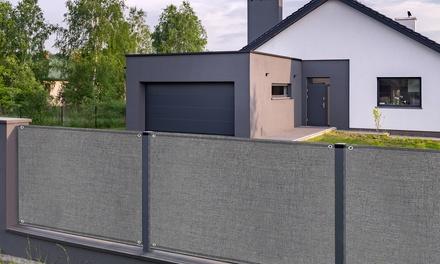 Rouleaux de brise vue en lots pour jardins, terrasses et balcons, taille et densité au choix