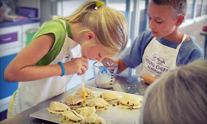 Young Chefs Academy - Young Chef's Academy: 90-Minute Kids' Cooking Class for One or Two at Young Chefs Academy (Up to 61% Off)