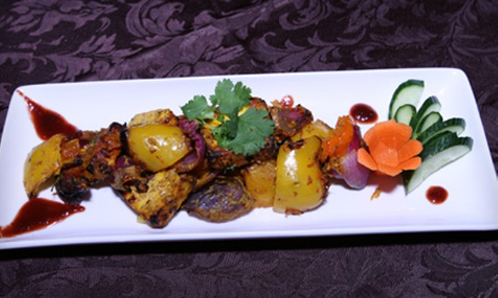 The Bawarchi - Brampton: Indian Fusion Meal for Two or Four at The Bawarchi in Brampton (Up to 56% Off)