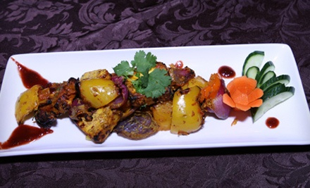 Indian Fusion Meal for 2 (a $78 total value) - The Bawarchi in Brampton