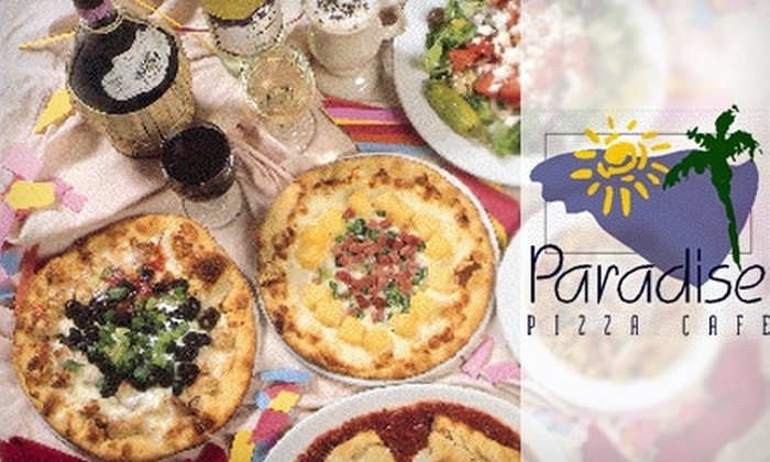 Lucullan's Italian Grill and Paradise Pizza Cafe - Multiple Locations: $10 for $20 Worth of Brick-Oven Pizzas at Paradise Pizza Cafe in West Des Moines or Italian Dishes at Lucullan's Italian Grill in Ames