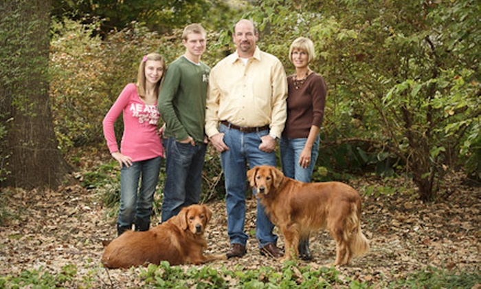 """Oak Tree Photography - Terrace Drive: $39 for a One-Hour Portrait Session with 11""""x14"""" Print from Oak Tree Photography ($295 Value)"""