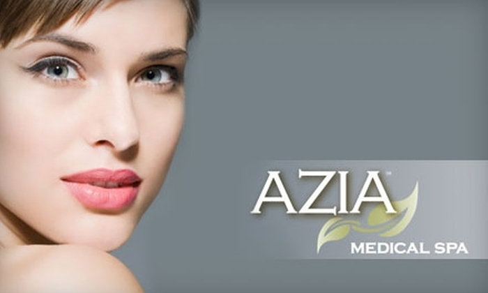 Azia Medical Spa - Alabaster-Helena: $99 for Three Laser Hair-Removal Treatments at Azia Medical Spa (Up to $525 Value)