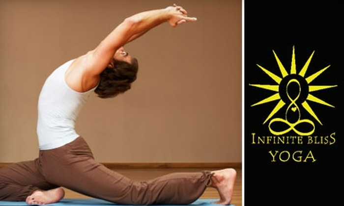 Infinite Bliss Yoga - Deer Park: $65 for One Month of Unlimited Classes at Infinite Bliss Yoga ($130 Value)