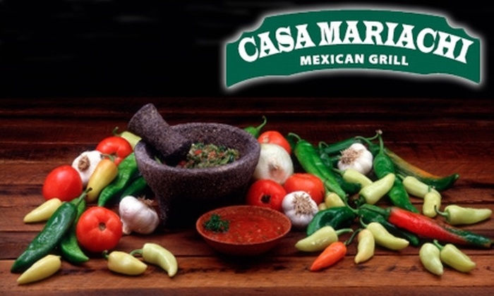 Casa Mariachi Mexican Grill - Central Beaverton: $12 for $25 Worth of Traditional Mexican Fare at Casa Mariachi Mexican Grill in Beaverton