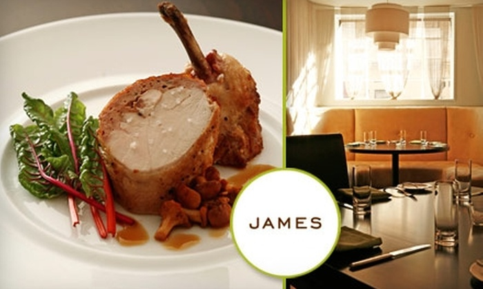 James - Bella Vista/ Southwark: $25 for $50 Worth of Fine Dining at James