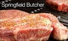 Springfield Butcher - Springfield: $12 for $25 Worth of Meat and Seafood at Springfield Butcher