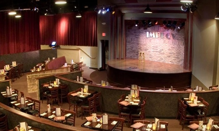 The Improv Comedy Club - Schaumburg: $24 for Two Tickets to a Show, an Appetizer, and Four Tickets to a Future Show at The Improv Comedy Club in Schaumburg (Up to $140.95 Value)