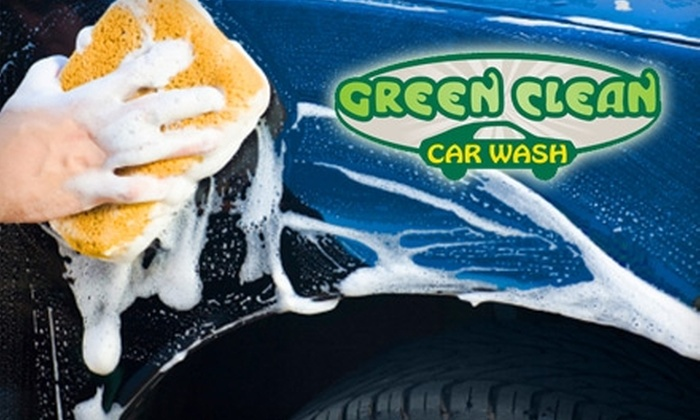 Green Clean Car Wash - Montville: $2 for an Exterior Only Car Wash ($7.50 Value) or $5 for The Works Car Wash ($14 Value) at Green Clean Car Wash