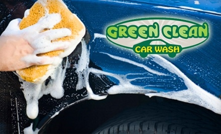 Green Clean Car Wash: Good for 1 Exterior Only Car Wash - Green Clean Car Wash in Pine Brook