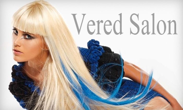 Vered Salon - Melrose: $50 for $125 Worth of Hair-Styling Services or $499 for $1,000 Worth of Hair-Extension Services at Vered Salon in Melrose Heights