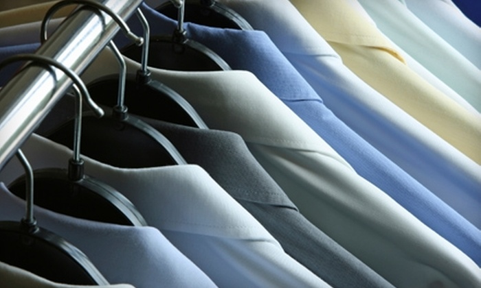 Executive Cleaners - Multiple Locations: $5 for $10 Worth of Dry-Cleaning Services at Executive Cleaners. Five Locations Available.