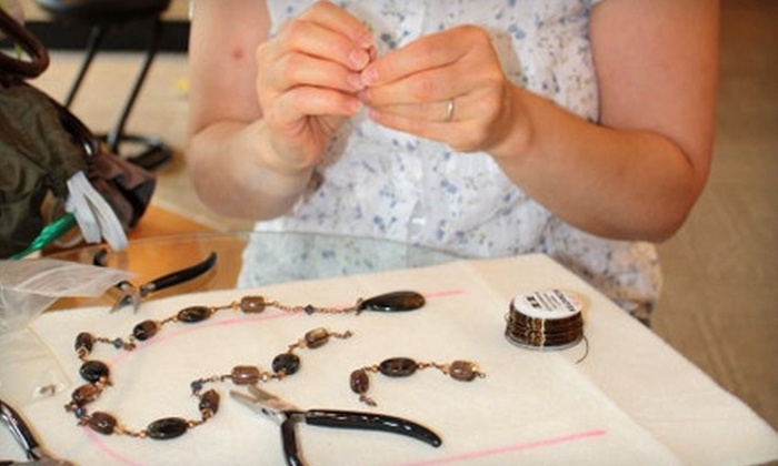 The Genuine Article - Wheaton: $15 for Two Hours Worth of a Bead or Wire Class at The Genuine Article in Wheaton