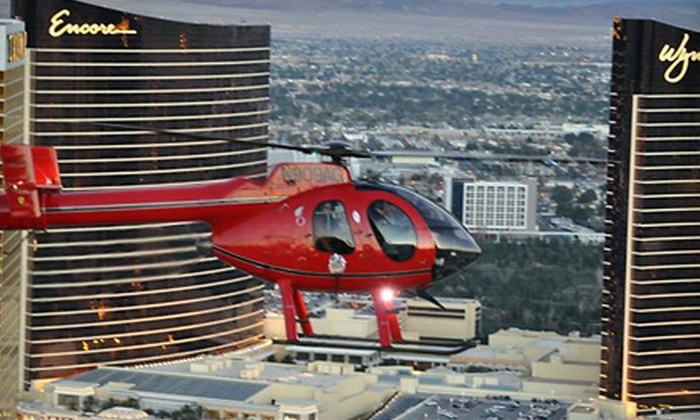 GC Flight - West Side: $99 for a Helicopter Tour of The Strip from GC Flight (Up to $198 Value)