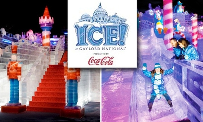 Gaylord National Resort & Convention Center - Washington DC: $12 Admission to Gaylord National Resort's Ice Festival