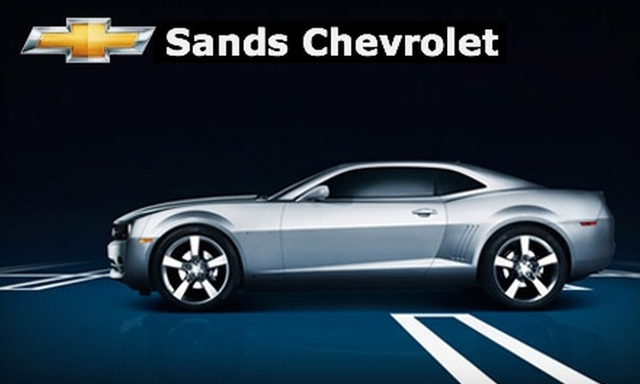Sands Chevrolet - Multiple Locations: $39 for an Oil Change, Tire Rotation with Nitrogen Injection, Car Wash and More at Sands Chevrolet or Sands Kia ($119 Value)