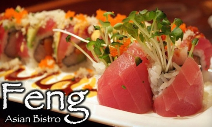 Feng Asian Bistro - Millbury: $15 for $30 Worth of Contemporary Asian Cuisine at Feng Asian Bistro in Millbury