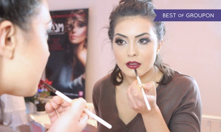 Make-Up Masterclass with Take Home Product for One, Two or Three at Make Up London Academy (Up to 85% Off)