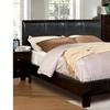 Levanna Espresso Contemporary Bed