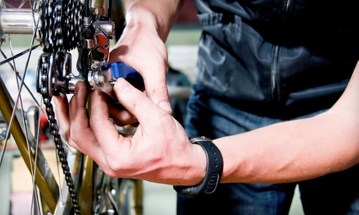 Smart Cycles - Strawberry Hill: Bike Parts and Accessories or Bike Checkup with Gear and Brake Adjustment at Smart Cycles in Norwalk (Half Off)