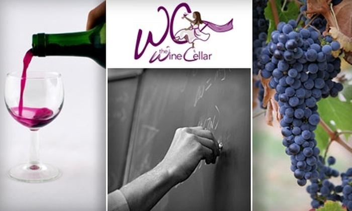 The Wine Cellar - Cedar Hills - Cedar Mill: $18 for a Head First into Wine Class at The Wine Cellar