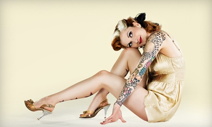 Portland Pinups - King: $99 for a Vintage Pin-Up Photo Shoot and Prints ($400 Value) with Portland Pin-Ups