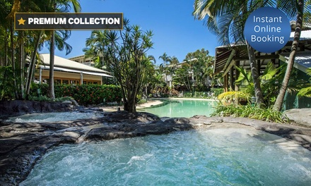 Sunshine Coast: 3-, 5- or 7-Night Getaway for Two or Four People with Spa Vouchers at South Pacific Resort & Spa