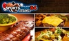 sportszone84 bar & grill - Dania Beach: $7 for $15 Worth of Burgers, Beers, and More at Sportszone84 Bar & Grill