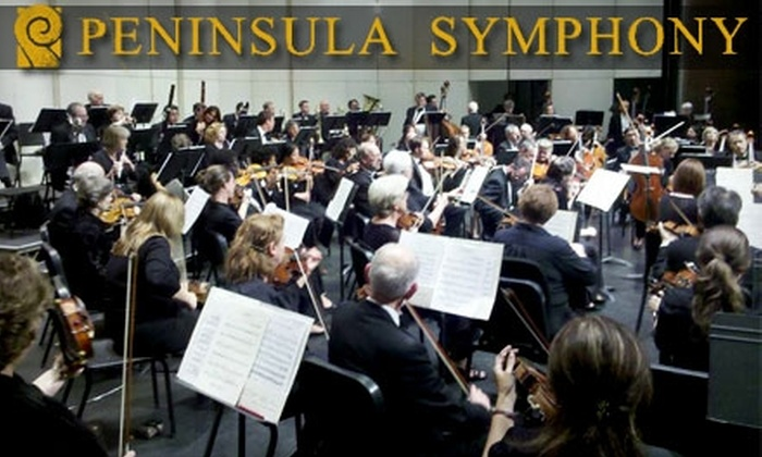 Peninsula Symphony - Multiple Locations: $38 for Two General-Admission Tickets to the Peninsula Symphony (Up to $76 Value). Six Performances Available.