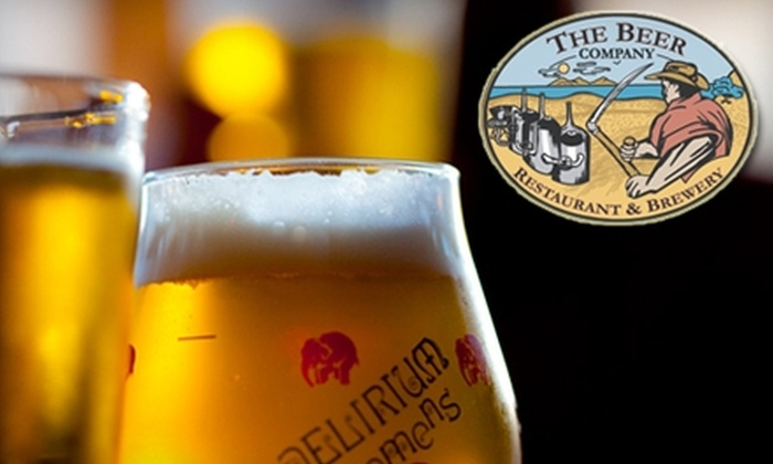 The Beer Company - Core-Columbia: $15 for $30 Worth of Pub Fare, House-Brewed Beer, and More at The Beer Company