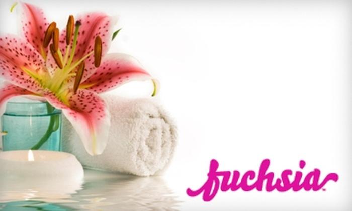 Fuchsia - Phoenix: $40 for $100 Worth of Spa Services at Fuchsia Spa in Mesa