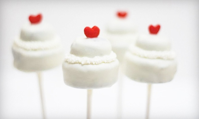 Steve's Sweet Treats Bakery - E. E. Smith: One Dozen or Two Dozen Cake Pops, Including Delivery, at Steve's Sweet Treats Bakery in Fayetteville (Up to 54% Off)