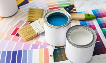 Pintura a domicilio para paredes