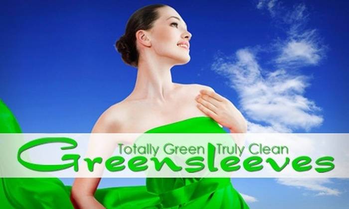 Greensleeves the Green Dry Cleaner - Multiple Locations: $12 for $25 Worth of Green Dry-Cleaning Services at Greensleeves the Green Dry Cleaner