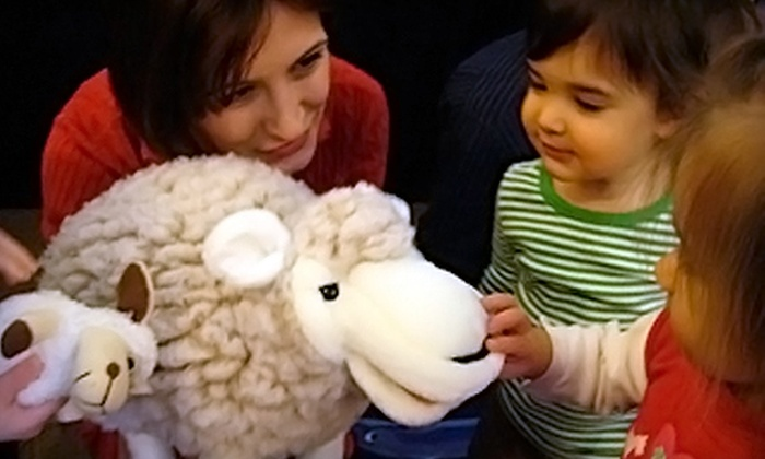 Let's Play in Italian - Multiple Locations: Two or Four Mommy and Me Italian Classes at Let's Play in Italian (Up to 55% Off)