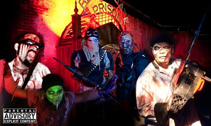 Nightmare's Gate Haunted House - Douglasville: One or Four Haunted-House Admissions or One Speed-Pass Haunted-House Admission to Nightmare's Gate Haunted House in Douglasville