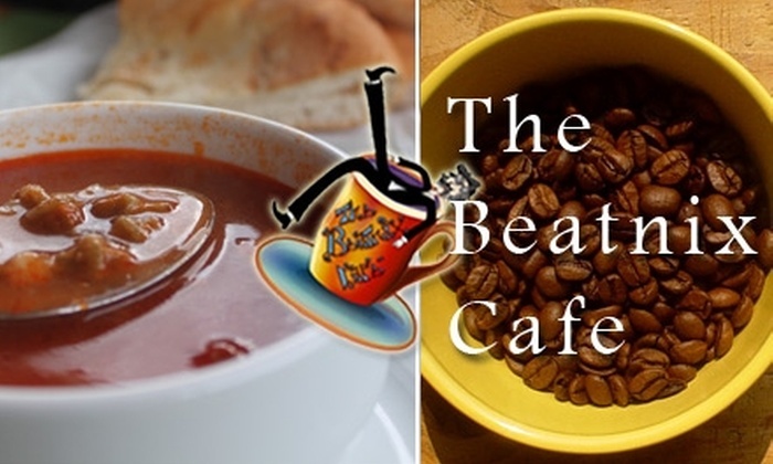 Beatnix Café - Downtown Oklahoma City: $10 for $20 Worth of Sandwiches, Soups, and More at The Beatnix Café