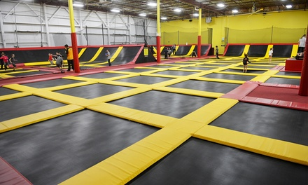 aerosports trampoline parks up to 20 off oakville on groupon. Black Bedroom Furniture Sets. Home Design Ideas
