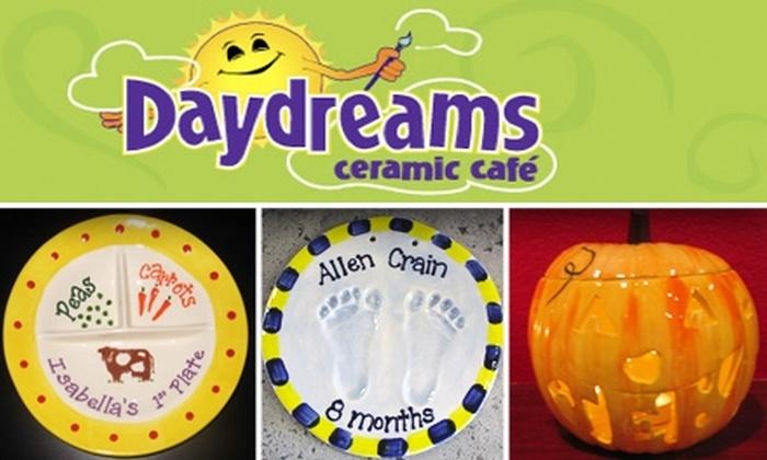 Daydreams Ceramic Cafe  - Village Center: Paint Your Own Ceramics at Daydreams Ceramic Cafe