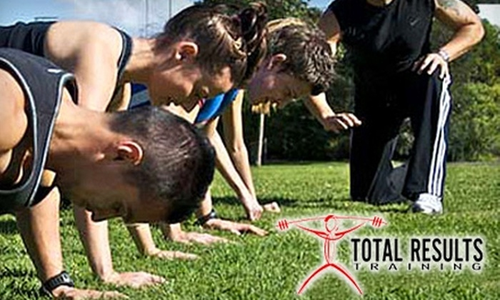 Total Results Training - Multiple Locations: $99 for Three Months of Unlimited Boot-Camp Sessions at Total Results Training