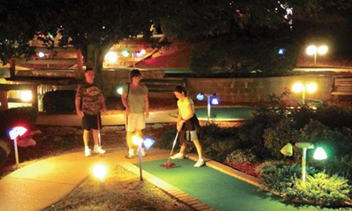 Go USA Fun Park - Murfreesboro: $12 for Four Go-Kart Rides or Four Rounds of Mini-Golf at Go USA Fun Park in Murfreesboro (Up to $26 Value)