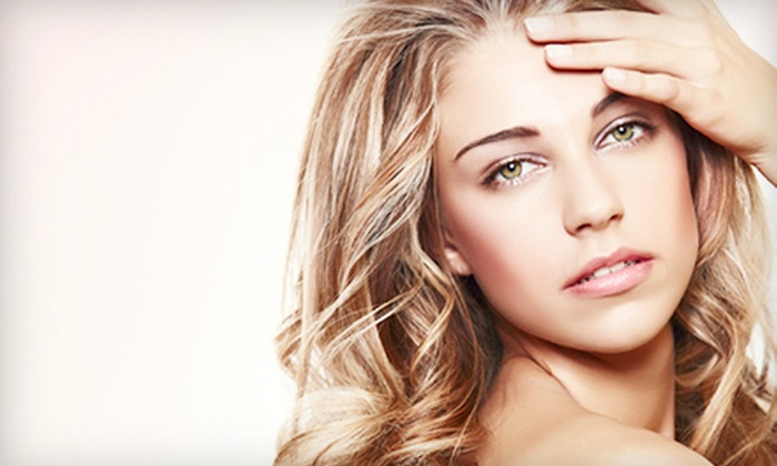 Dove Salon - Second Ward: $45 for Haircut and Style, Eyebrow Wax, and Choice of Color or Texture-Waves Treatment at Dove Salon ($95 Value)