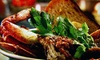 Up to 52% Off Seafood Dinner at Desert Fish
