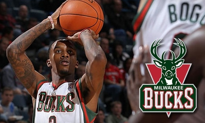 Ticket to Milwaukee Bucks Game. Choose from Five Options