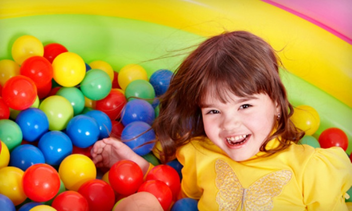 Balls of Fun - Erin Mills: $20 for Six-Visit Multiple Visit Card to Balls of Fun in Mississauga ($44.25 Value)