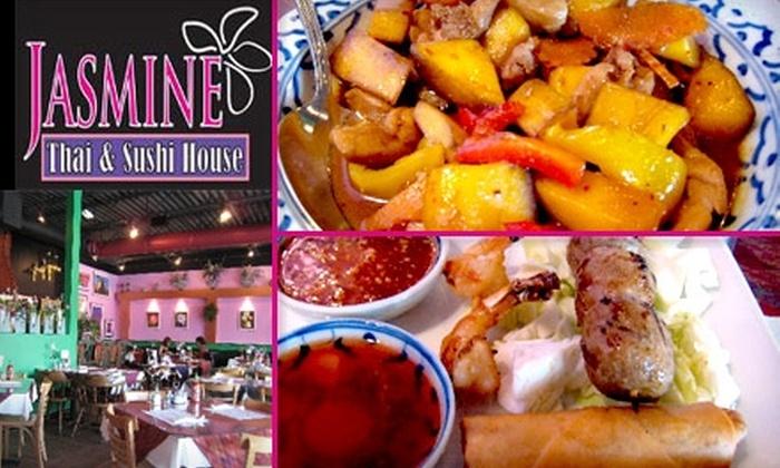 Jasmine Thai & Sushi House - Albuquerque Industrial Park: $10 for $20 Worth of Thai Cuisine and Drinks at Jasmine Thai & Sushi House