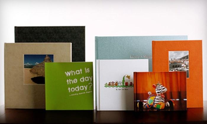 Photobook Canada: $40 for $115 Worth of Keepsake Books from Photobook Canada